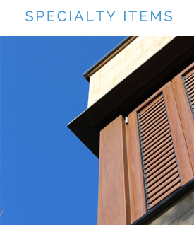 Specialty Item Gallery