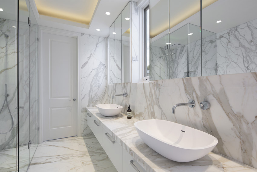 European Marble Centre Bathroom